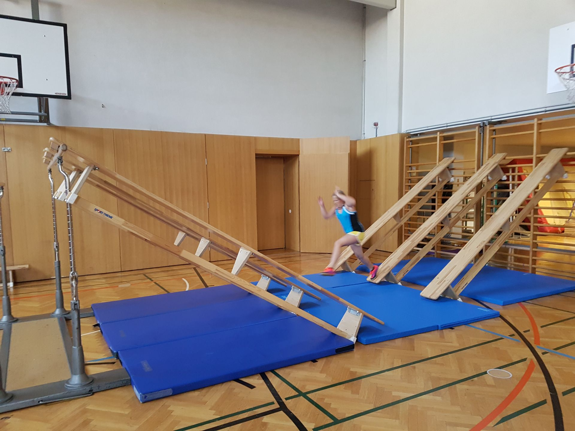 Ninja Warrior im Sportunterricht   20s   Brgwels